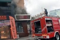 Yalova'da Dönercide Korkutan Yangın