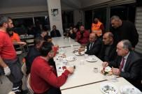 GÖREV SÜRESİ - Başkan Arslan, Şantiye İşçileriyle Kahvaltı Yaptı