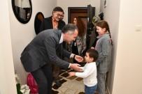 DÜNYA ENGELLILER GÜNÜ - Başkan Taban'dan Engelli Ailelere Ziyaret