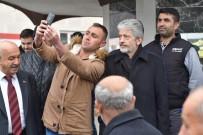 TAŞPıNAR - Başkan Tuna Pursaklar'da Esnafı Ziyaret Etti