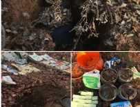 UZAKTAN KUMANDA - Diyarbakır'da terör örgütü PKK'ya yönelik operasyon: 3 sığınak imha edildi