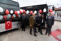 DÜNYA ŞEHİRLERİ - Isparta'ya Yeni Otobüs Hattı Ve Körüklü Otobüs Kazandırıldı