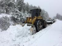 ATAKÖY - Karacasu'da Yoğun Kar Yağışı Etkili Oldu