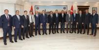 KEREM SÜLEYMAN YÜKSEL - Kaymakamlardan Başkan Atilla'ya Ziyaret