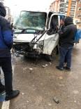 ISPARTA BELEDİYESİ - Kaza Yapan Kamyonette Sıkışan Yaralı Sürücüyü İtfaiye Kurtardı