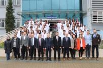 KARABÜK ÜNİVERSİTESİ - KBÜ Diş Hekimliği Fakültesinin İlk Öğrencileri Beyaz Önlüklerini Giydi