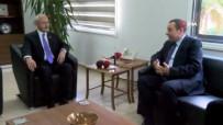 MALİYE BAKANI - Kılıçdaroğlu, KKTC Maliye Bakanı Denktaş'ı Ziyaret Etti