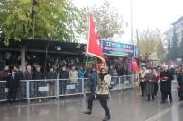 GAZİLER DERNEĞİ - Kilis'in Düşman İşgalinden Kurtuluşu Sağanak Yağmur Altında Kutlandı
