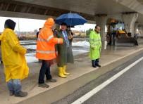 SU TAŞKINI - Mersin'de Yağış Önlemi
