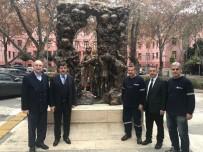 MUSTAFA YıLDıRıM - Öğretmenler Anıtı'nın Bakımını Tophane MTAL Üstlendi