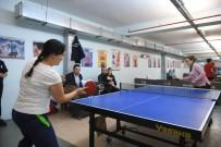 ALTUNTAŞ - Personel Masa Tenisiyle Stres Attı