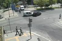 KURAL İHLALİ - Sakarya'da Meydana Gelen Trafik Kazaları Kamerada