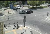 KURAL İHLALİ - Sakarya'da Meydana Gelen Trafik Kazaları Kameralara Yansıdı