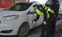 KIŞ LASTİĞİ - Tatvan'da Kış Lastiği Uygulaması Yapıldı
