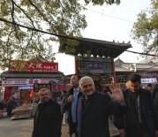 KıRGıZISTAN - TBMM Başkanı Yıldırım'dan Cengiz Aytmayov'un Kabrine Ziyaret