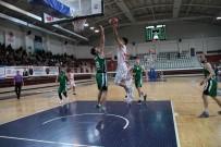 Türkiye Basketbol Ligi Açıklaması Yalova Belediyespor Açıklaması 74 - Akhisar Belediye Açıklaması 81