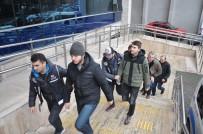 ASKERİ ÖĞRENCİ - Zonguldak'ta FETÖ Operasyonunda 4 Kişi Tutuklandı