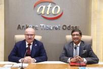 KIRMIZI HALI - ATO'da 'Hindistan İle Yatırım Ve Ticaret Fırsatları Toplantısı'