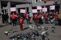 BALıKESIR ÜNIVERSITESI - Balıkesirli Genç Kızılaycılar Dünya Gönüllüler Gününü Kutladı