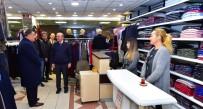 SELAHATTIN GÜRKAN - Başkan Gürkan, İnönü Kapalı Çarşı Esnafı İle Bir Araya Geldi