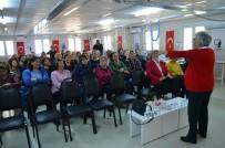 ÖFKE KONTROLÜ - Didimli Kadınlar Gelişim Seminerinde Bilgilendirildi