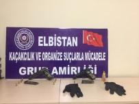 RUHSATSIZ SİLAH - Elbistan'da Silah Kaçakçılığı Operasyonunda 2 Kişi Tutuklandı