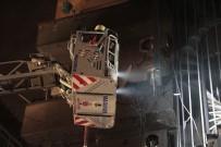 BEYAZ EŞYA - Fatih'te 5 Katlı Bina Alev Alev Yandı