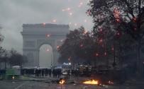 HÜKÜMET KARŞITI - Fransa'da 278 kişi gözaltına alındı