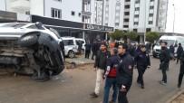 CENAZE ARACI - Kahta'da Zincirleme Kaza Açıklaması 2 Yaralı