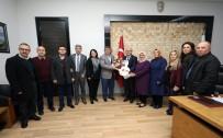 ABDULLAH ÇELIK - Kent Konseyi'nden Başkan Çoban'a Teşekkür Ziyareti