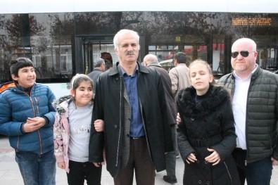Konya'da Görme Engelliler Otobüslerde İnecekleri Durakları Duyacak
