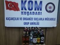 KAÇAK İÇKİ - Kuşadası Polisi'nden Kaçak İçki Operasyonu