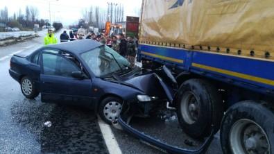 Malatya'da Feci Kaza Açıklaması Karakol Komutanı Hayatını Kaybetti