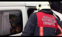 SÜTLÜCE - Malatya'da Trafik Kazası Açıklaması 1 Yaralı