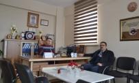 İŞ VE MESLEK DANIŞMANI - Müdür Kızılkaya'dan Başkan Keskin'e Ziyaret
