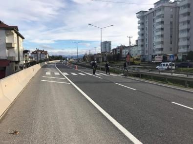 Otomobilin Çarptığı Genç Kadın Yaralandı