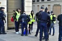 FRANSA CUMHURBAŞKANI - Paris'te 'Sarı Yelekliler' Alarmı