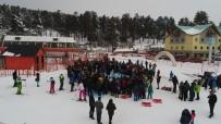 KAYAK MERKEZİ - Sarıkamış'ta Kayak Sezonu Açıldı