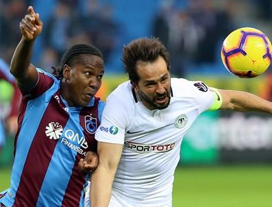 Trabzonspor evinde Konyaspor'a 3 attı