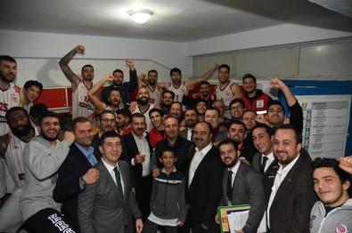 Türkiye Basketbol Ligi Açıklaması Karesispor Açıklaması 100 - Düzce Belediyespor Açıklaması 77