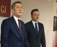 MILLI EĞITIM BAKANı - Milli Eğitim Bakanı Ziya Selçuk İzmir'de