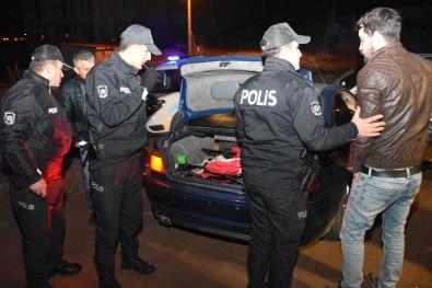Uygulama Noktasından Drift Atarak Kaçan Alkollü Sürücü Yakalandı