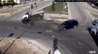HUZURKENT - Aceleci Sürücü Kazaya Neden Oldu