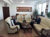 YUSUF ALEMDAR - Başkan Alemdar İl Jandarma Komutanı Yiğit'i Ziyaret Etti