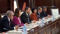 AVRUPA KONSEYI PARLAMENTERLER MECLISI - Çalışma Bakanı Sarıeroğlu, Azerbaycan Meclis Başkanı Oktay Asadov İle Görüştü