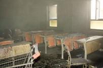 İTFAİYE MÜDÜRÜ - Çankırı Karatekin Üniversitesinde Korkutan Yangın