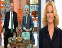 MÜGE ANLı - Cumhurbaşkanı Erdoğan Müge Anlı'ya konuk oldu