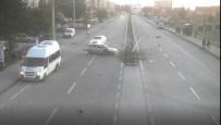 GAFFAR OKKAN - Eskişehir'deki Trafik Kazaları MOBESE Kameralarına Yansıdı
