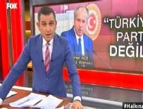 ANAMUHALEFET - Fatih Portakal: CHP'de değişim zamanı geldi