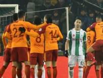 KENDİ KALESİNE - Galatasaray Konya'dan avantajlı döndü!